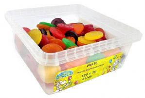 Candy Factory Jelly Smiles Tub Of 120